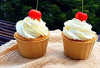 奶油杯子蛋糕#博世红钻家厨#的做法