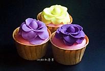 翻糖杯子蛋糕#约会MOF#的做法