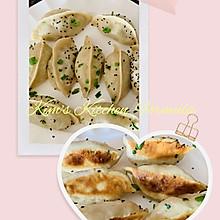 脆皮煎饺的包法及烹制