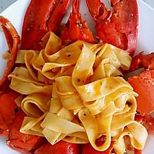 红葡意粉焗龙虾
