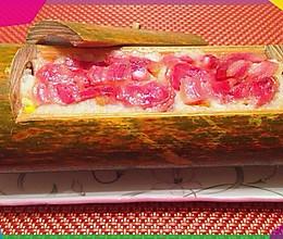 十二岁少年指导下的美食--竹筒饭的做法