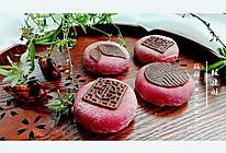 甜菜绿豆酥的做法
