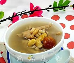 祛湿美容的扁豆眉豆鸡脚汤---春季美食的做法