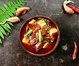 #下饭红烧菜#吃一次就会爱上的红白豆腐的做法