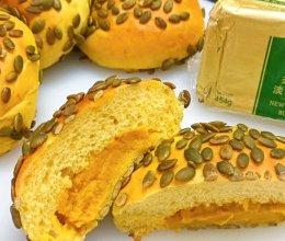 #奈特兰草饲营养美味#南瓜奶酪面包的做法