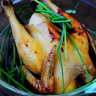 无水电饭锅焗鸡