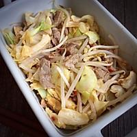微波炉牛肉圆白菜