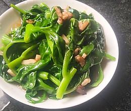 蒜香木耳菜的做法