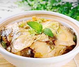 砂锅焖鱼的做法