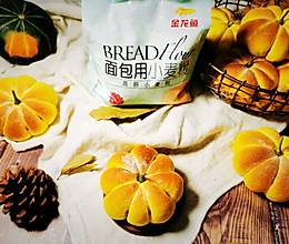 萌萌哒红豆沙馅小南瓜面包的做法