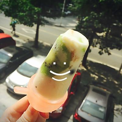 养乐多酸奶果酱冰棒