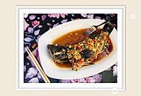 #炎夏消暑就吃「它」# 酸辣石斑鱼的做法
