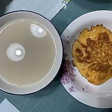 快手早餐—松软美味的番茄鸡蛋饼