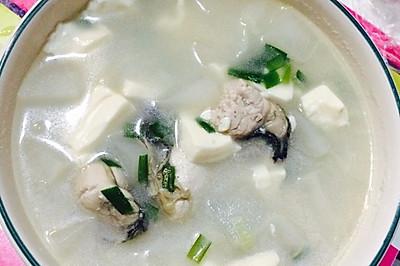 牡蛎汤 【蛎黄汤】 生蚝汤
