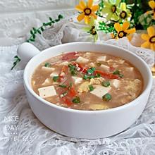 #肉食者联盟#番茄豆腐糁汤