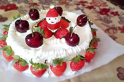 八寸草莓蛋糕#九阳烘焙剧场#