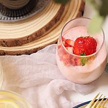 酸酸甜甜草莓慕斯