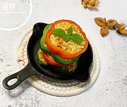 彩椒鸡胸时蔬圈~减脂~宝宝辅食百搭款的做法