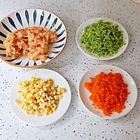 时蔬鸡肉饼的做法图解3