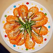 盐水基围虾