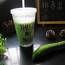 排毒果汁,酸奶黄瓜汁
