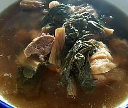 菜干猪骨下火汤的做法