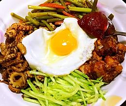 韩式拌饭(拌饭什么的so easy)的做法