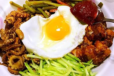 韩式拌饭(拌饭什么的so easy)