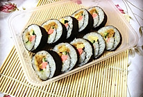 【寿司系列】基础:简易寿司卷。的做法