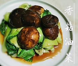 香菇油菜—我爱吃素的做法