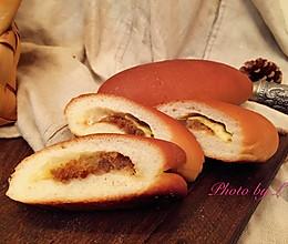 乳酪肉松小餐包的做法