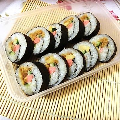 【寿司系列】基础:简易寿司卷。