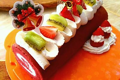 圣诞蛋糕【甜蜜配方】