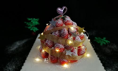 火遍朋友圈的草莓塔蛋糕的做法