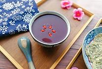 #精品菜谱挑战赛#美容养颜黑米红枣枸杞糊的做法