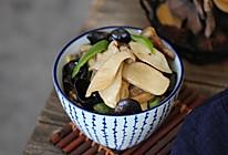 杏鲍菇炒木耳的做法