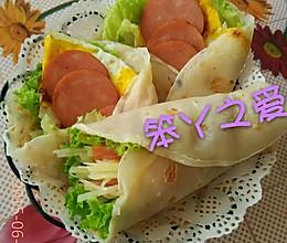 蔬菜卷饼的做法