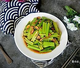 #初春润燥正当时#清炒芹菜的做法
