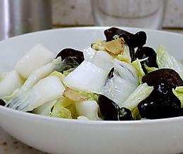 木耳清炒大白菜的做法