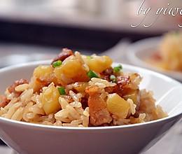 土豆五花肉焖饭#樱花味道#的做法
