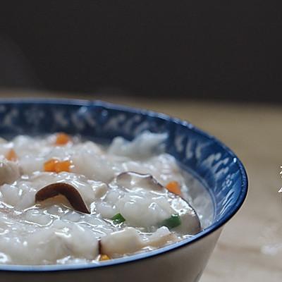 养胃粥香菇鸡肉粥(养胃粥)
