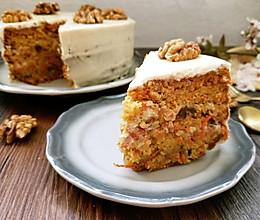 素食烘焙 两款萝卜蛋糕的做法