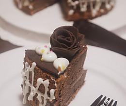 巧克力鲜奶蛋糕的做法