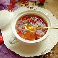 蔓越莓雪梨桃胶雪燕羹#快手又营养,我家的冬日必备菜品#的做法图解8