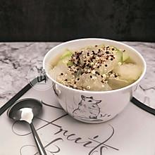 三色藜麦冬瓜汤#花10分钟,做一道菜!#