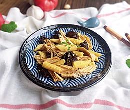 #母亲节,给妈妈做道菜#清爽的玉米笋拌腐竹的做法