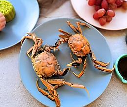 清蒸河蟹·王者荣耀版#中秋宴,名厨味#的做法