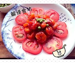 番茄沙司炒虾仁的做法