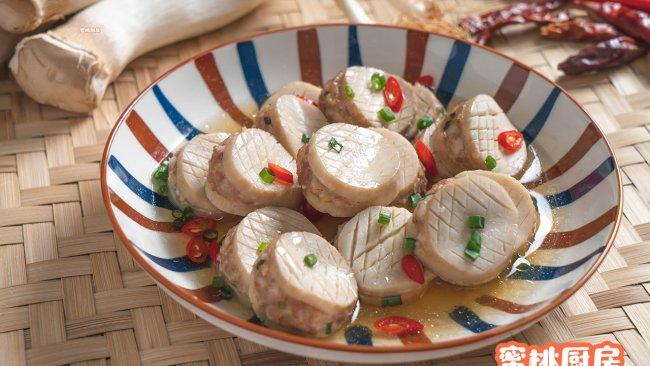 杏鲍菇酿肉的做法