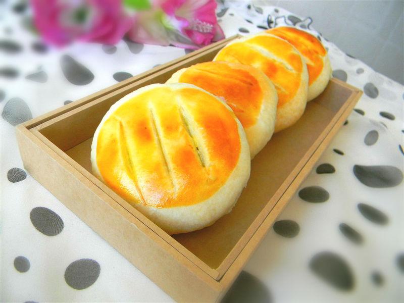 红糖糯米粉馅老婆饼